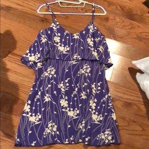 Blu moon floral mini dress size 1